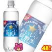 ポッカサッポロ おいしい炭酸水 PET 500ml×24本入×2ケース:合計48本 /飲料