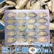 牡蠣 冷凍ボイル牡蠣 中 20個入 宮城県産 業務用 真カキ