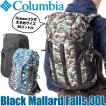 Columbia コロンビア リュックサック ブラックマラードフォールズ 30L