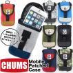 チャムス CHUMS Mobile Patched Case モバイル パッチド ケース