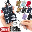CHUMS チャムス キーケース Recycle Retractor Key Holder リサイクル リトラクター キーホルダー