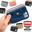 CHUMS チャムス 財布 Pocket Size Wallet Sweat Nylon ポケットサイズ ウォレット スウェットナイロン