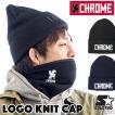 CHROME クローム LOGO KNIT CAP ロゴ ニット キャップ