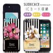 スマホケース アイフォン8 ケース 耐衝撃 iPhone X ケース 背面ICカード収納 iPhone8 ケース iPhone8 7 6s/6 Plus 香水瓶 デイジー