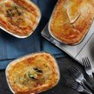 FALCON PIE DISHES パイディッシュ 4枚セット BK RD GY