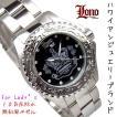 LONO ロノ ハワイアンジュエリー レディース 10気圧 ダイバーウォッチ 腕時計 LGA130405
