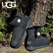 UGG ムートンブーツ ベイリーボタン ブーツ レディース MINI BAILEY BUTTON BLING 新品 1003889