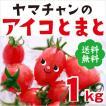 【送料無料】アイコトマト1Kg【長崎県産】やまちゃんのアイコとまと