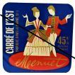 フランスの古いチーズラベル フランスの古いもの フランス雑貨 フランスビンテージチーズラベル  #008