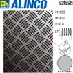 ALINCO/アルインコ 板材 アルミ縞板 CIシリーズ 長:900mm×幅:450mm×厚:0.8mm 生地 品番:CI490N (※条件付き送料無料)
