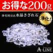 パワーストーン 浄化 大粒 AAAさざれ水晶 お得な大容量 約200g JK-2337