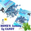 輸入菓子  小さなミントキャンディー モンクス アイスバーグキャンディーバッグ MONK'S Iceberg