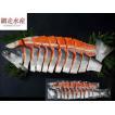 極上紅鮭姿切身「B」 1本・1.7〜2.0kg /切身が一切れずつ真空パックされています ギフト 贈答 プレゼント 便利 F069