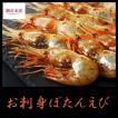 お刺身ぼたんえび(500g・生冷凍・ボタンエビ)ギフト 贈答 プレゼント おつまみ 寿司ネタ S143