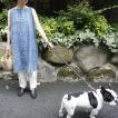 ANOKHI(アノキ) 木版染め ノースリーブロングトップ 全5種類