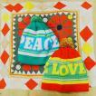 LOVE&PEACEニット帽 全2色