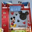 ウォールステッカー 子供部屋 ディズニー キッズ ミッキーマウス インテリア デコレーション 特大 ステッカー