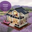 ドールハウス 人形 かわいい 家 ミニチュアハウス木製 組み立て DIYハウスキット プレゼント ギフト