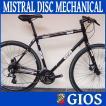 ジオス ミストラル ディスク メカニカル (ブラック) 2020 GIOS MISTRAL DISC MECHANICAL クロスバイク