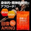 【回復アミノ】 アミノ酸 サプリメント 疲労回復 GABA BCAA トレーニング ダイエット