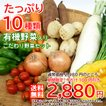 【送料無料】有機野菜入りこだわり野菜セット