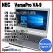 中古ノートパソコン NEC VersaPro VA-9 【Windows10 Upgrade済モデル】