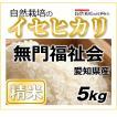 【精米5kg】自然栽培のイセヒカリ 愛知県「無門福祉会」・お米