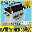 日立 新神戸電機 EB35 ポール端子 テーパー 35Ah/5時間率容量 日立化成 日本製 国産 ディープサイクル バッテリー 蓄電池  非常用電源 太陽光 ソーラー発電 用