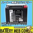HD65989-90B HD ハーレー ダビットソン 純正 AGM 高性能 バイク バッテリー 6ヶ月保証 65989-90B 91-96 DYNA&ST