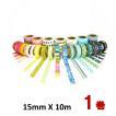 ポイント消化 送料無料 マスキングテープ 15mm x 10m コストコ 300 500