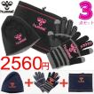 ネックウォーマー 手袋 ニットキャップ 3点セット フリース ヒュンメル Hummel グローブ ビーニー/HFA3set14