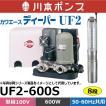 川本ポンプ UF2-600S カワエースディーパー 深井戸水中ポンプ (単相100V・600W・50/60Hz共用)