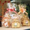 焼き菓子ギフトバッグ〜和歌山産フルーツを焼き込んだ焼き菓子7個(パウンドケーキ,マドレーヌ,カップケーキ)リボンラッピング