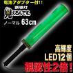 誘導棒 誘導灯 緑LED  見えるんです。  ノーマルタイプ グリーン (63cm) 2001002 ミズケイ