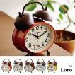 置時計 おしゃれ 北欧 プレゼント 置き時計 アンティーク レトロ 時計 置時計 インテリア  CL-9366 Loro テーブルクロック
