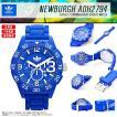 ADIDAS アディダス 腕時計  ブルー 青 クロノグラフ ニューバーグ ADH2794 メンズ レディース スポーツウォッチ