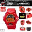 G-SHOCK カシオ 腕時計 レッド 赤 クレイジーカラーズ DW-6900CB-4