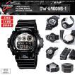 安心2年保証 CASIO カシオ G-SHOCK ジーショック 腕時計 DW-6900NB-1  シルバー 黒色 メタリック ブラック