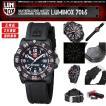 安心2年保証 LUMINOX ルミノックス 腕時計 7065 レディース スポーツウォッチ ピンク・ブラック カラーマークシリーズ ミリタリー アウトドア