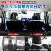 車内用 透明 アクリル 間仕切り 運転席 助手席 セット コロナ ウイルス対策 飛沫感染対策 設置取付 国内生産 マジックテープ付 2mm 3mm 仕切り