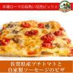 佐賀県産プチトマトと自家製ソーセージのピザ[冷凍pizza お取り寄せ イタリアン]