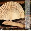 ウッド扇子 アジアン         レディースファッション  着物、浴衣  和装小物  扇子  うちわ 木製 木 エスニック アジアン雑貨