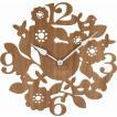 壁掛け時計 フォレスト        家具、インテリア  インテリア時計   掛け時計、壁掛け時計  木製  ナチュラル ブラウン
