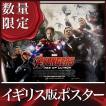 映画ポスター アベンジャーズ エイジオブウルトロン グッズ /イギリス版 DS