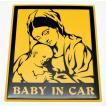 【3Dステッカー】BABY IN CARステッカー