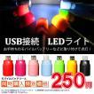 【モバイルバッテリーと同時購入で特別価格】 USB接続 LEDミニライト LED フラッシュ ライト 懐中電灯の代わりに モバイルバッテリーに接続 軽量 コンパクト
