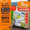【新米】定期購入5kgx6回 令和元年産 玄米 白米 今ずり米 無洗米 農薬不使用 コシヒカリ