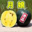 月娘 秀品 小玉 スイカ 農薬不使用 黄色い すいか 送料無料
