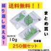 保冷剤 ミニ 10g 250個セット マスク 小さい保冷剤 キャンプ 再利用可 蓄冷剤 日本製 スノーパックプチ 10g 送料無料 ポイント消化