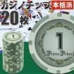 送料無料 本格カジノチップ1が20枚 プライムポーカールーレット用カジノチップ 遊べるカジノチップ 雰囲気出るカジノチップ Ag020